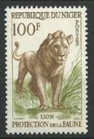 "Niger YT 108 "" Protection De La Faune Lion 100F "" 1959-62 Neuf** - Niger (1960-...)"