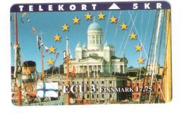 Denmark  -  P 82 - ECU 3 - Finland Suomi - Finnmark - 09.96 - Mint - Only 700 Ex. - Dinamarca