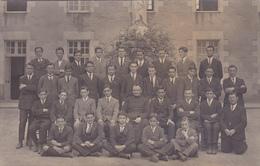 CARTE PHOTO 49 - CHOLET - LYCEE - Ecole Classe De Seconde Année 1925 - 1926 - Cholet