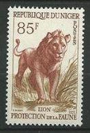 "Niger YT 107 "" Protection De La Faune Lion 85F "" 1959-62 Neuf** - Niger (1960-...)"