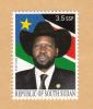 SOUTH SUDAN 3.5 SSP Stamp President Salva Kiir, Part Of Unissued 2012 Set MNH Soudan Du Sud Südsudan - Sud-Soudan