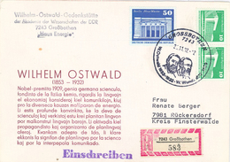 W. Ostwald - W. Wundt - Chemiker Und Philosoph. O. Gilt Als Einer Der Begründer Der Physikalischen Chemie - Persönlichkeiten