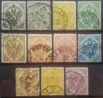 BOSNIA-HERCEGOVINA 1900/01 - Canceled - ANK 10-20 - Bosnie-Herzegovine