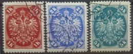 BOSNIA-HERCEGOVINA 1900/01 - Canceled - ANK 21x-23x - Complete Set! - Bosnie-Herzegovine