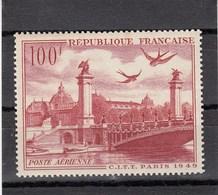 France - 1949 - N°YT PA 28** - Grand Palais Et Pont Alexandre III - Posta Aerea
