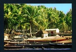SENEGAL - Saloum Island Fishing Village Used Postcard As Scans - Senegal