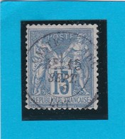 SAGE N° 90 TYPE II C  ETAT 3     + CACHET  CASTELFRANC / LOT  - 15 SEPT 1878 -REF  1602 - 1898-1900 Sage (Type III)