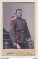 Au Plus Rapide CDV Militaire Insigne Sur Manche Photographe Otto Hoppe Celle Allemagne Excellent état - Guerre, Militaire