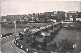 CPM Le Pecq Le Pont Sur La Seine Et Le Pavillon Henri IV - Le Pecq