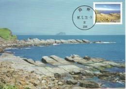Carte Maximum - Taiwan - Formose - Northeast Coast National Scenic - Pitou Coastline - Maximum Cards