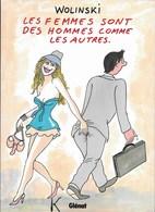 Livre ,Les Femmes Sont Des Hommes Comme Les Autres De Wolinsky - Wolinski