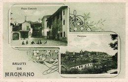MAGNANO - SALUTI - BIELLA - VIAGGIATA - Biella