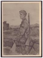 Dt- Reich (006738) Propagandakarte Unsere Arbeitsmänner Im Kriegseinsatz, Arbeitsmann, Rad Kriegsmaler Alfred Kitzig - Deutschland