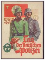 DT-Reich (006751) Propagandakarte, WHW 1941, Tag Der Deutschen Polizei, Gelaufen  Düdelingen (Luxemburg) Am 13.2.1941 - Deutschland