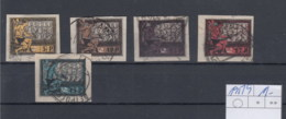 Russland Michel Cat.No. Used 195/199 - Used Stamps