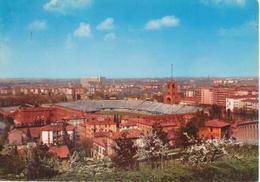 BOLOGNA - PANORAMA E STADIO COMUNALE DALL'ARA - NON VIAGGIATA - Bologna