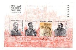 M/S Polonia Polska 2008 BL180 Polish Post USED - 1944-.... République