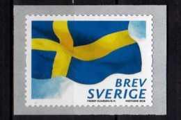 2018 Sweden National Flag Of Sweden - S.adhesive MNH ** MiNr.  3235 - Briefmarken