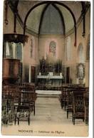 Modave - Intérieur De L'Eglise - Edit. Desaix Paris - 2 Scans - Modave