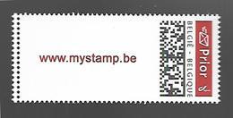 Belg. 2019 - COB N° 4831 ** - Mystamp PRIOR (ADHESIF) - Belgium