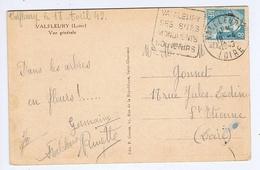 HAUTE-LOIRE - Flamme Daguin VALFLEURY Du 19 -4  1949 - Marcophilie (Lettres)