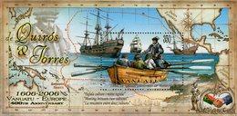 Vanuatu - 2006 - 400th Anniversary Of Vanuatu Discovery By Quiros & Torres - Mint Souvenir Sheet - Vanuatu (1980-...)