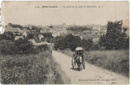 D35 - SAINT LUNAIRE - VUE  PRISE DE LA ROUTE DE SAINT BRIAC  - Calèche Avec Ombrelle - Saint-Lunaire