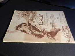9) ALFREDO CATALANI LORELEY LIBRETTO D'OPERA EDIZIONE RICORDI BELLA COPERTINA DI HOHENSTEIN - Opéra