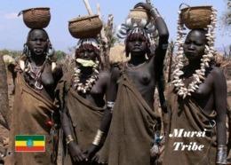 Ethiopia People Mursi Women New Postcard Äthiopien AK - Äthiopien