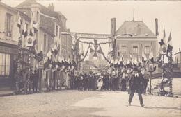 CARTE PHOTO 49 - CHOLET - Honneur Aux Soldats Choletais - WW1 Guerre 1914 1918 - Cérémonie Fête - Cholet