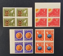 Albania 1962; Space, Cosmos, Animals & Fauna; Dogs; MNH, Neuf**, Postfrisch; CV 440 Euro!! - Albania