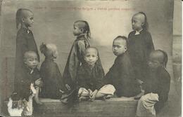 * COCHINCHINE , Saïgon , Petits Garçons Annamites , CPA ANIMEE - Vietnam