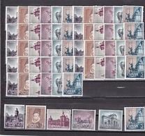 España Nº 1388 Al 1393 - 10 Series - 1961-70 Nuevos & Fijasellos