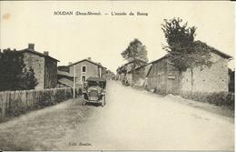 * SOUDAN ( Deux Sèvres ) , L'entrée Du Bourg , 1932 - Francia