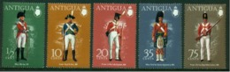 """-Antigua-1974-""""Colonial Uniforms"""" MNH (**) - 1960-1981 Ministerial Government"""