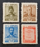 Albania 1960; Famous People; MNH, Neuf**, Postfrisch; CV 14 Euro; - Albania