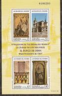 1997-ED. 3494 H.B.- EDADES DEL HOMBRE. BURGO DE OSMA-NUEVO- - Blocs & Hojas