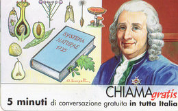ITALY - CHIAMAGRATIS - CARLO LINNEO - Italy