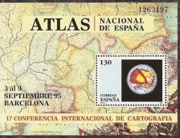 1995-ED. 3388 H.B. - CARTOGRAFIA - NUEVO- - Blocs & Hojas