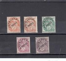France - 1922-47 - Préobl. - Neuf**  - 39**à 43** - Type Blanc - 1893-1947