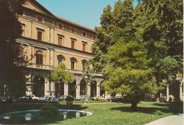 BOLOGNA - PIAZZA CAVOUR E BANCA D'ITALIA - ANIMATA - AUTO D'EPOCA CARS VOITURES - NON VIAGGIATA - Bologna
