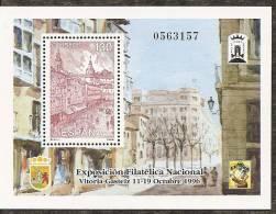 1996-ED. 3451 H.B.- EXFILNA'96 -NUEVO- - Blocs & Hojas