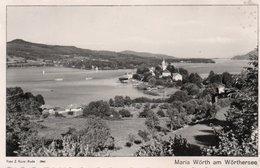MARIA WORTH AM WORTHERSEE-REAL PHOTO-1954 - Maria Wörth