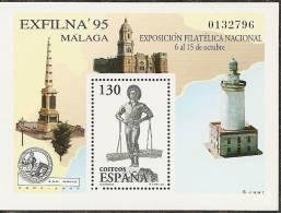 1995-ED. 3393 H.B.- EXFILNA ' 95 -NUEVO- - Blocs & Hojas