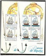 1996-ED. 3415 A 3416- BARCOS DE EPOCA -NUEVO++ - Blocs & Hojas