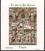 1998-ED. 3595 H.B.- LA SEO S. SALVADOR, ZARAGOZA - NUEVO- - Blocs & Hojas