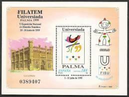 1999-ED. 3648 H.B.- FILATEM'99 -NUEVO- - Blocs & Hojas