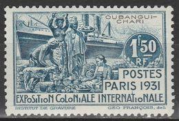 Oubangui Chari - 1.50 Fr. - Mi 85 - 1931 - Ongebruikt