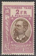 Oubangui Chari - Postage Due - 2 Fr. - Mi 21 - 1930 - Nuevos
