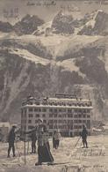 74 CHAMONIX MONT BLANC  SPORTS D HIVER SKIEURS SUR LES PISTES DU SAVOY PALACE - Chamonix-Mont-Blanc